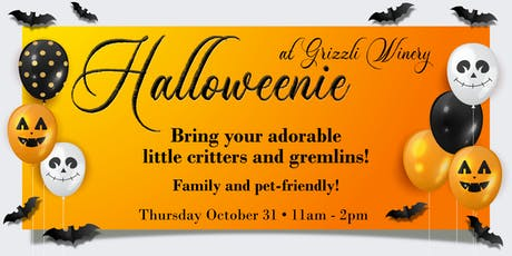 Halloweenie at Grizzli Winery tickets