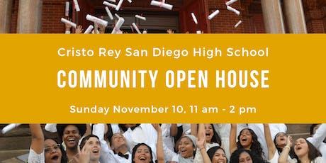 Cristo Rey San Diego High School Open House tickets