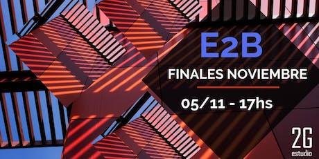 Estructuras 2B   Finales entradas