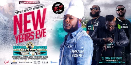 Pressure Busspipe I New Year's Eve tickets