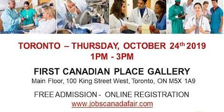 Toronto Healthcare Job Fair - October 24th, 2019 tickets