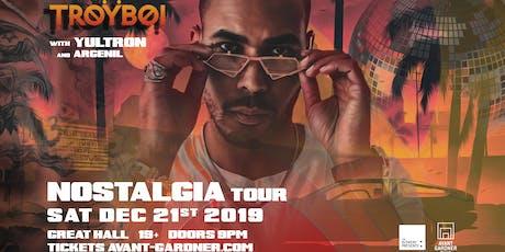 TroyBoi - Nostalgia Tour tickets