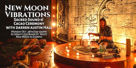 New Moon Vibrations: Sacred Sound & Cacao Ceremony with Darren Austin Hall tickets