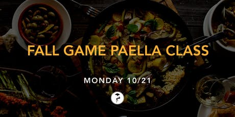 Fall Game Paella Class tickets