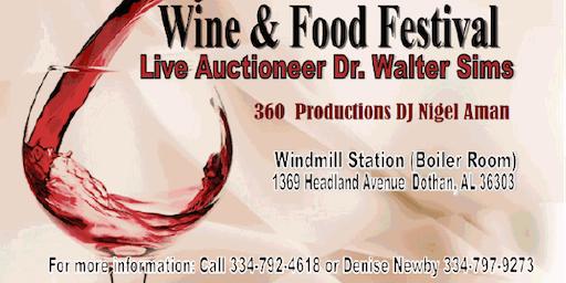 3rd Annual Alveta Houston Hawk Wine & Food Fesitval & Live Auction
