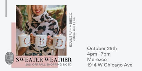 Sweater Weather - Shopping & CBD tickets