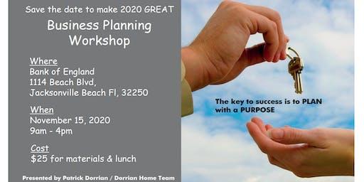 2020 Business Planning Workshop for Real Estate Agents