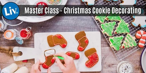Christmas Cookie Decorating Master Class