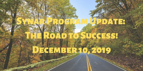Synar Program Update: The Road to Success! tickets