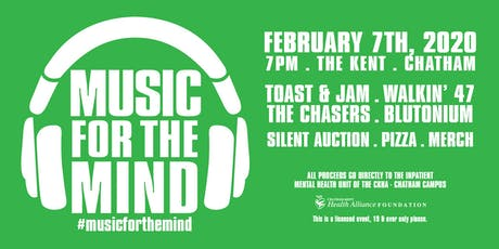 Music For the Mind Fundraiser tickets