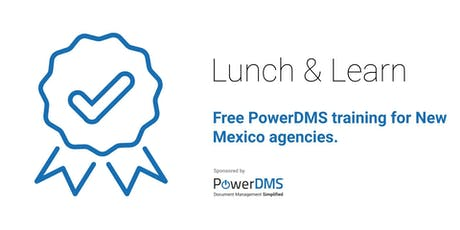 PowerDMS training provided in partnership with NMML. tickets