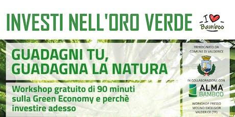 I Love Bamboo - Green Equity EcoNomy biglietti