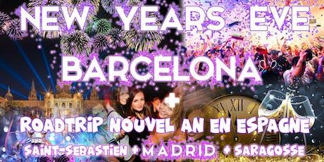 Road trip Nouvel An en Espagne : Madrid & Barcelone 2019-20 tickets