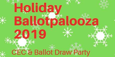 Holiday Ballotpalooza 2019 tickets