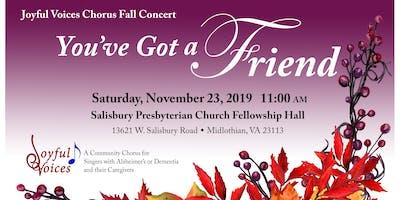 Joyful Voices Fall Concert Singers Site