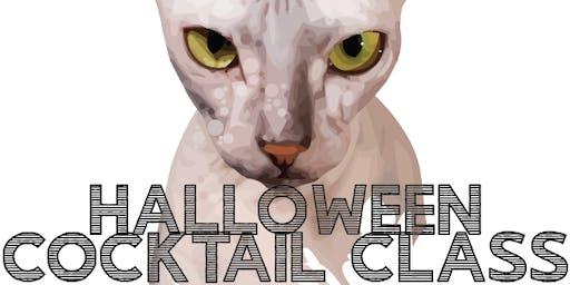 Halloween Cocktail Class