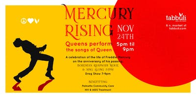 Mercury Rising - A celebration of the life of Freddie Mercury