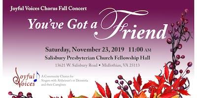 Joyful Voices Fall Concert
