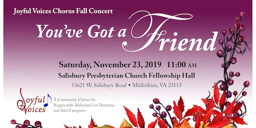 Joyful Voices Fall Concert