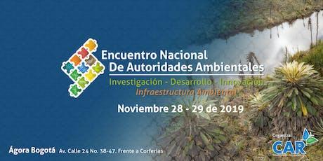 ENCUENTRO NACIONAL DE AUTORIDADES AMBIENTALES entradas