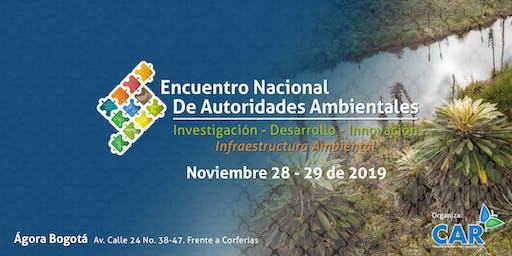 ENCUENTRO NACIONAL DE AUTORIDADES AMBIENTALES