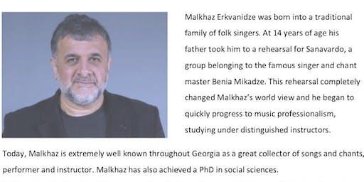 Georgian singing workshop