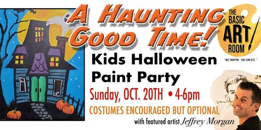 Kids Halloween Paint Party