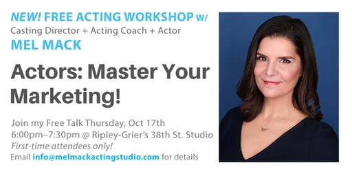 Mastering Your Actor Marketing