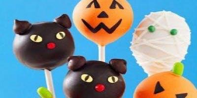 Halloween Cake Pop Decorating Class