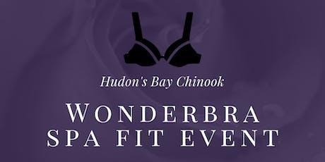 WonderBra Fit Event tickets
