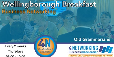 Wellingborough Breakfast Business Networking tickets
