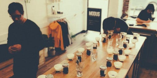 SPECIALTY COFFEE TASTING WORKSHOP- 'CAUSECOFFEELAB