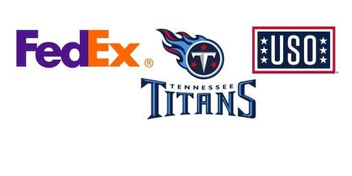 Titans/NFL/FedEx/USO Employment Readiness Workshop