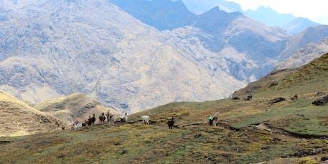 Living Outside the Comfort Zone - Llama Trek in Peru tickets