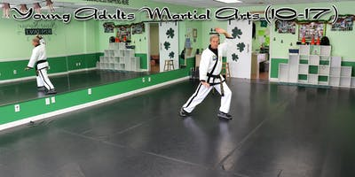 Young Adults Martial Arts (10-17 yrs old) - South