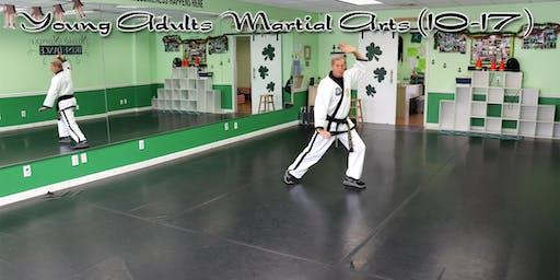 Young Adults Martial Arts (10-17 yrs old) - South Wantagh, NY
