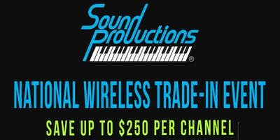 Sound Productions National Trade-In Day
