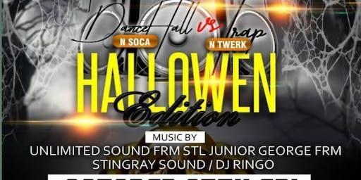 Dancehall & Soca VS Trap & Twerk (Caribbean American) Halloween Party