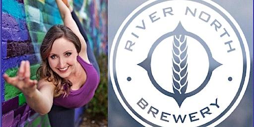 Yoga on Tap @RiNo Brewery - Blake