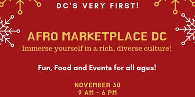 2019 Afro Marketplace DC - Vendor Registration.