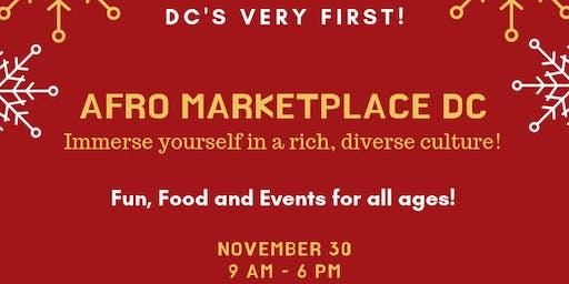 2019 Afro Marketplace DC - Vendor Registration.