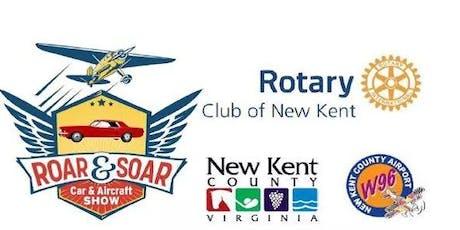 Roar & Soar Car & Aircraft Show tickets