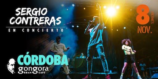Sergio Contreras en concierto en CÓRDOBA