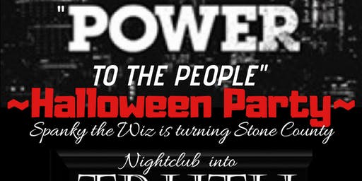 """POWER"" themed Halloween Party hosted by Spanky"