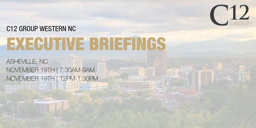 C12  Group Briefing - Asheville