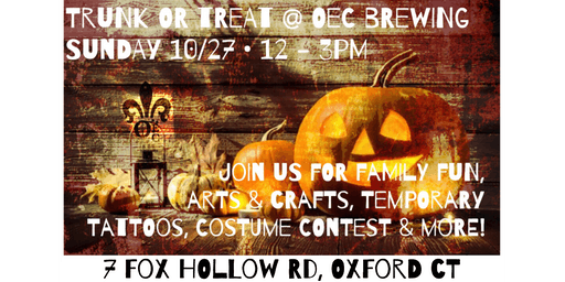 Trunk & Treat at OEC Brewing