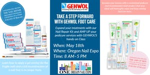 Take a step forward with GEHWOL Foot Care at the Oregon...