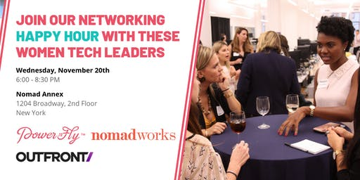 Join Our Networking Happy Hour with These Women Tech Leaders