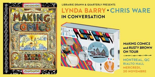 Lynda Barry + Chris Ware in Conversation