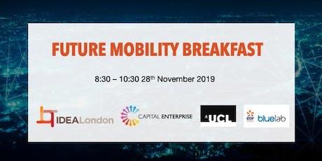 IDEALondon Future Mobility Breakfast #2 - Business Models & Startups tickets